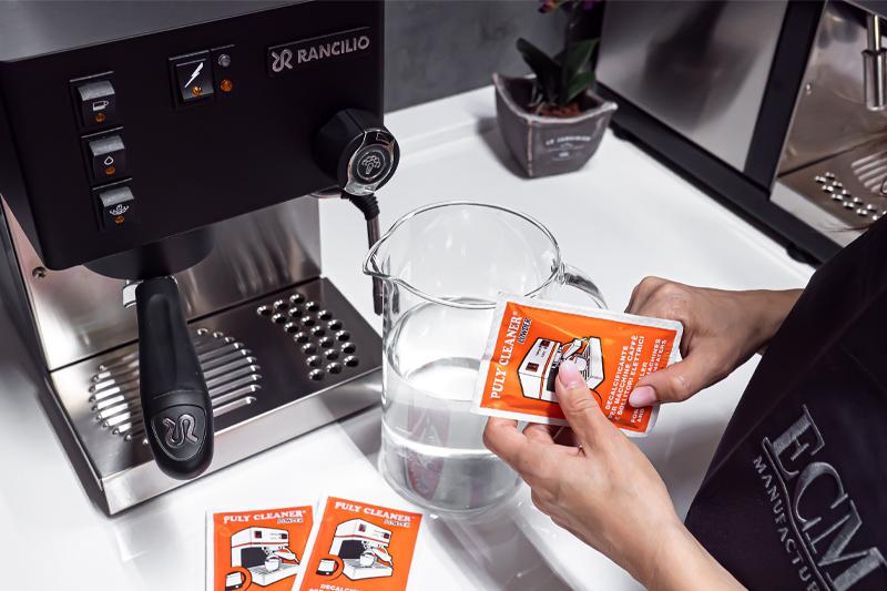 Jak na odvápňování pákového kávovaru?