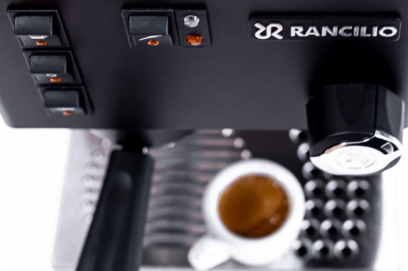 Espresso, cappuccino - Rancilio Silvia (a další s 1 okruhem)