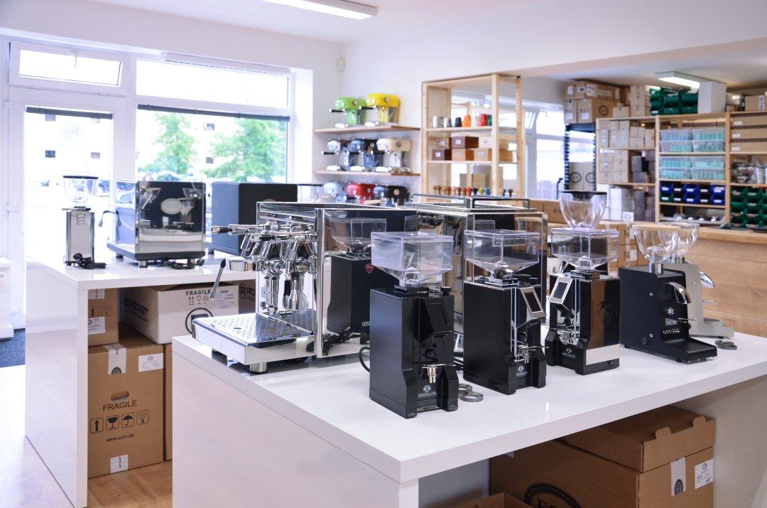 Buna café showroom a prodejna