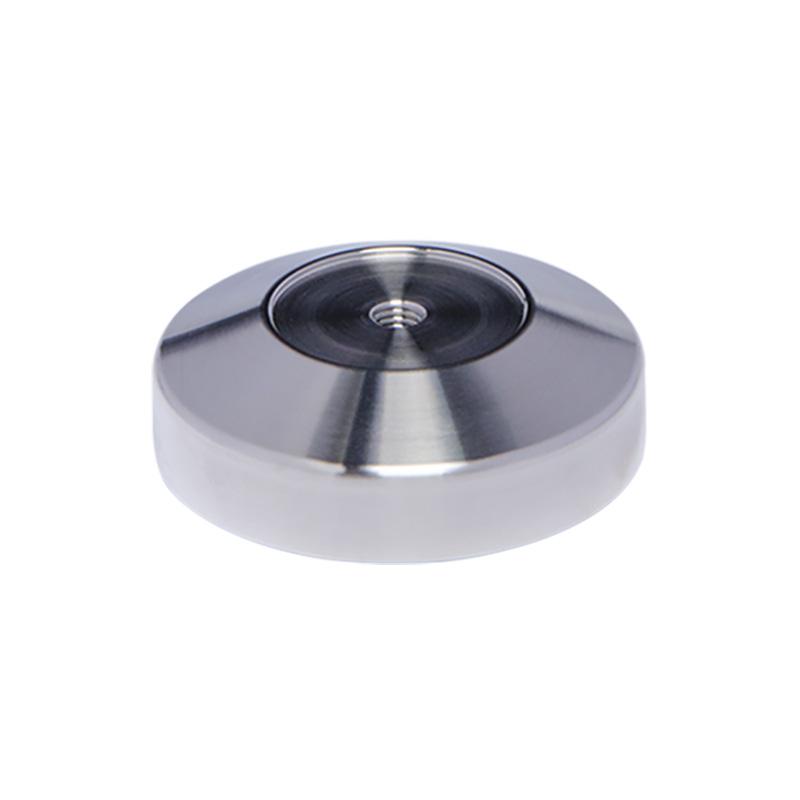 Základna 58 mm, nerez mat, konvexní