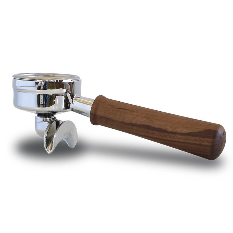 Ascaso Profi páka s dvouvýpustí (2 cup portafilter), walnut