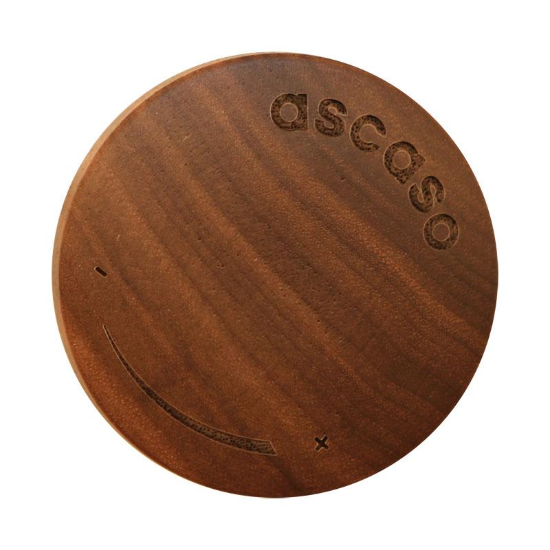 Ascaso dřevěný kohout horká voda/pára, walnut