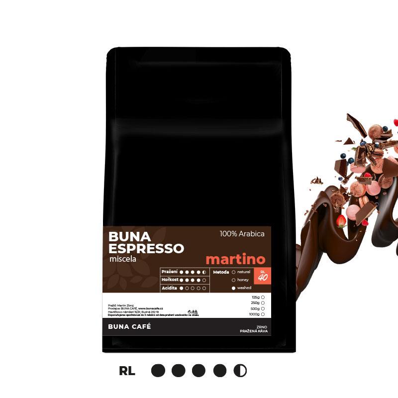 Buna Espresso martino 100%, 250g