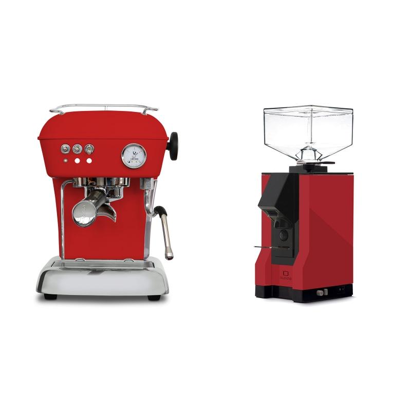 Ascaso Dream ONE, Love Red + Eureka Mignon Silenzio, BL ferrari red