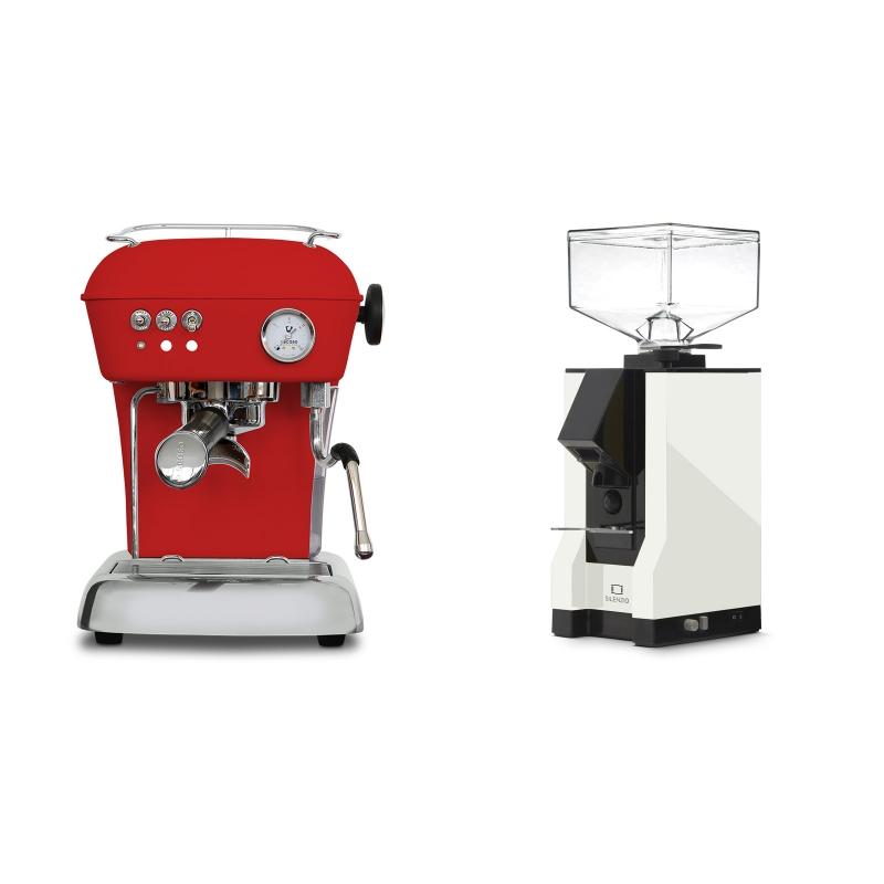 Ascaso Dream ONE, Love Red + Eureka Mignon Silenzio, BL white