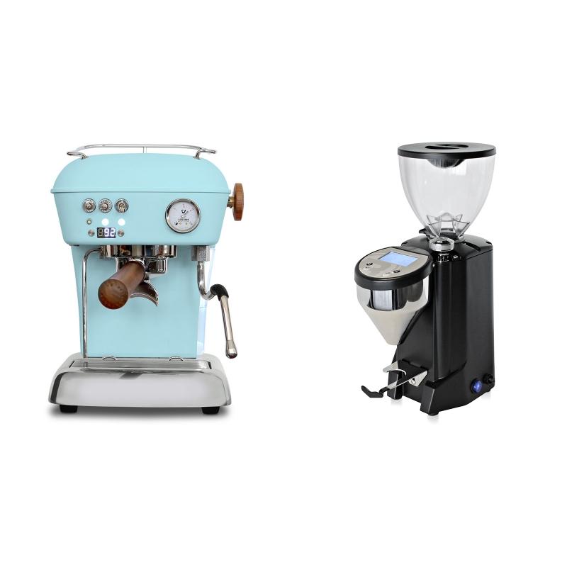 Ascaso Dream PID, Kid Blue + Rocket Espresso FAUSTO, černý