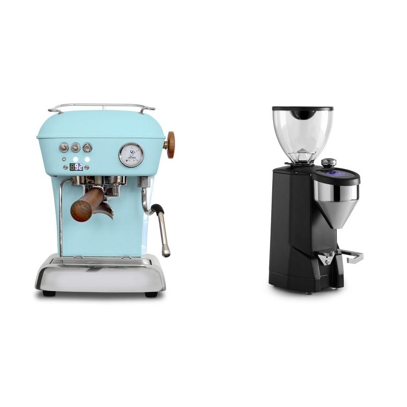 Ascaso Dream PID, Kid Blue + Rocket Espresso SUPER FAUSTO, black