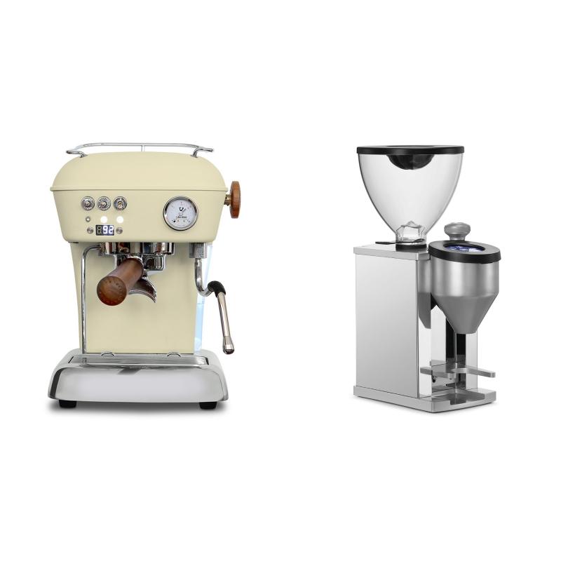 Ascaso Dream PID, Sweet Cream + Rocket Espresso FAUSTINO, chrome