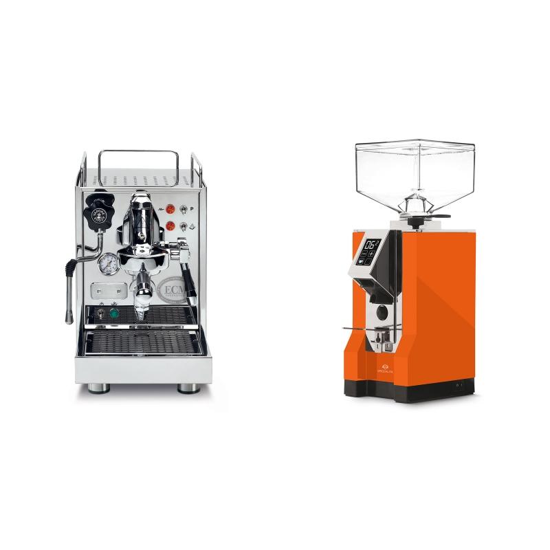 ECM Classika PID + Eureka Mignon Specialita, CR orange