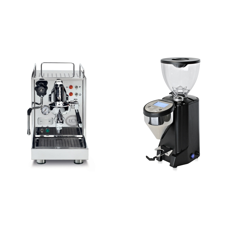 ECM Classika PID + Rocket Espresso FAUSTO, černý