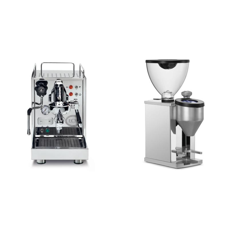 ECM Classika PID + Rocket Espresso FAUSTINO, chrome