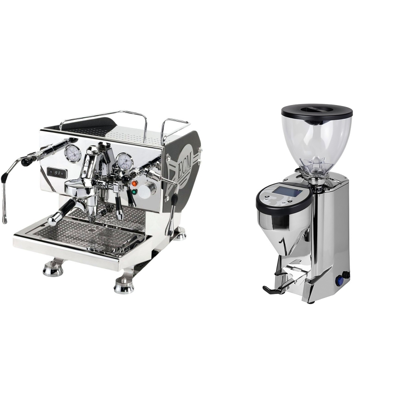 ECM Controvento + Rocket Espresso FAUSTO, nerez