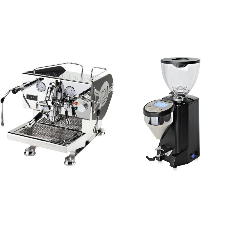 ECM Controvento + Rocket Espresso FAUSTO, černý