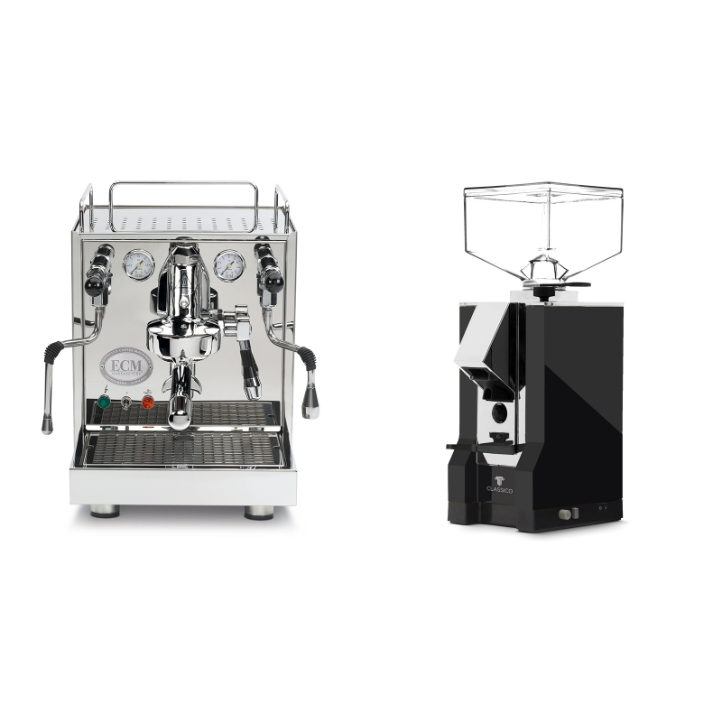 ECM Mechanika IV Profi + Eureka Mignon Classico, CR black