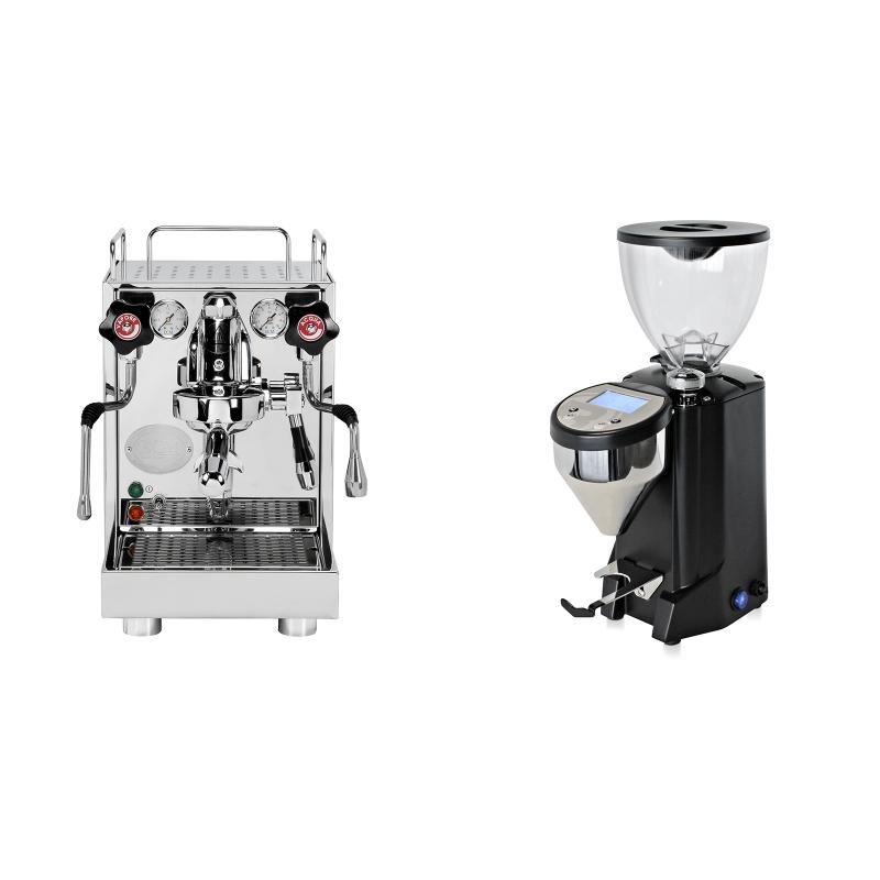 ECM Mechanika V Slim + Rocket Espresso FAUSTO, černý