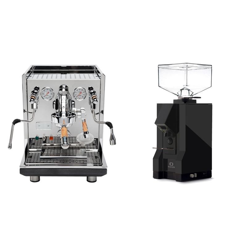 ECM Synchronika, oliva + Eureka Mignon Silenzio, BL black