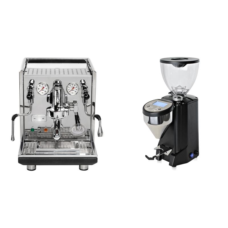 ECM Synchronika + Rocket Espresso FAUSTO, černý