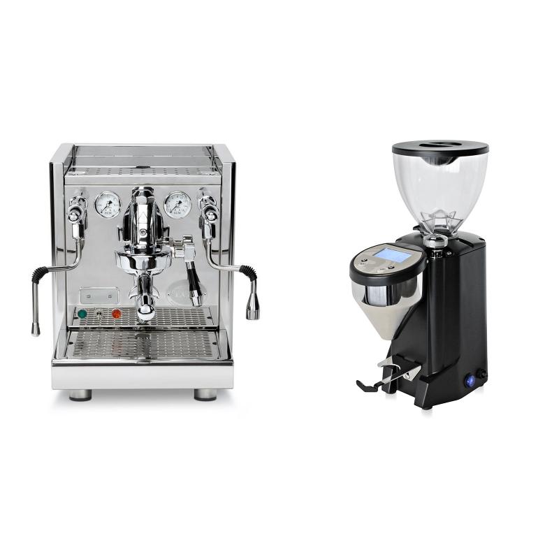 ECM Technika V Profi PID + Rocket Espresso FAUSTO, černý