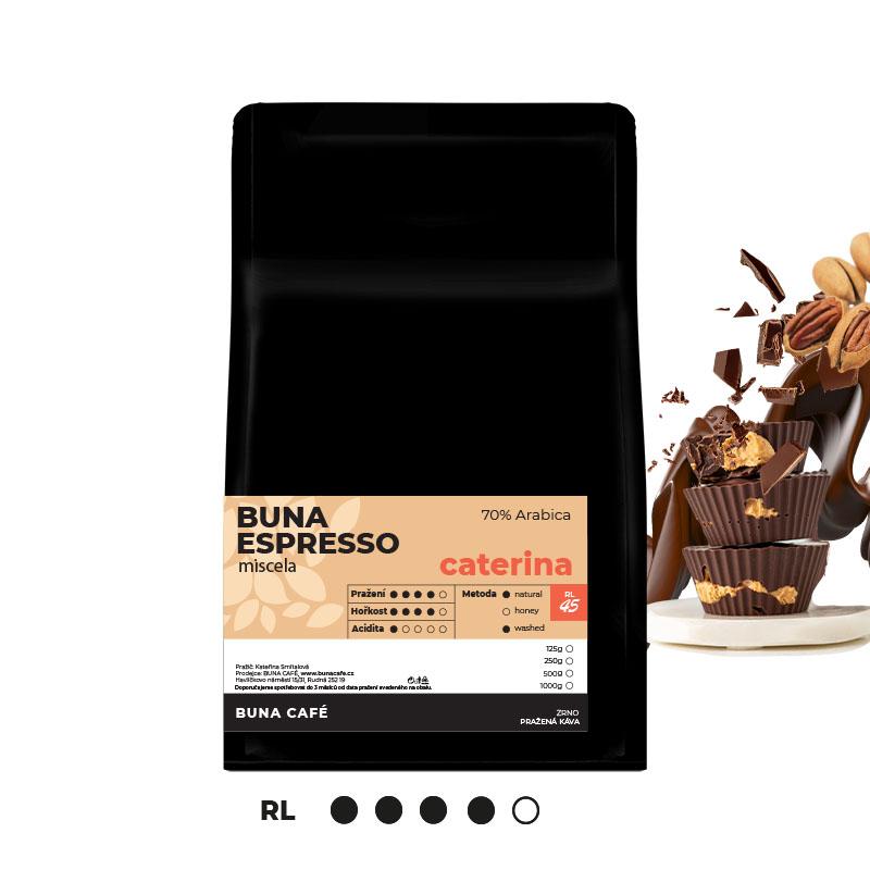 Buna Espresso caterina 70%, 500g