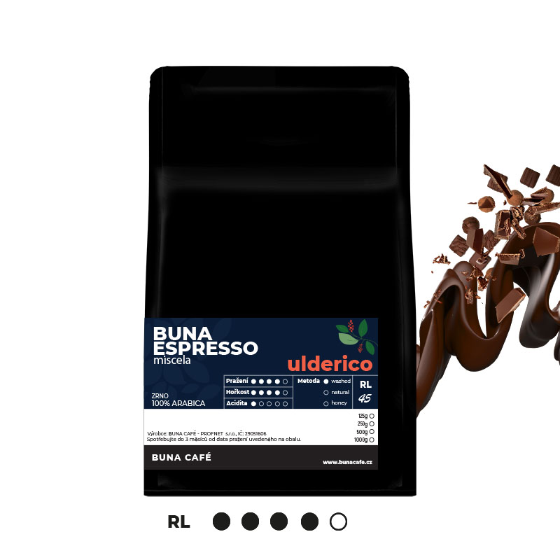 Buna Espresso ulderico 100%, 250g