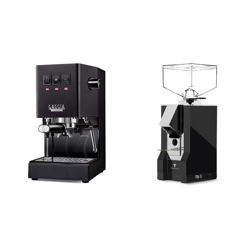 Gaggia New Classic, black + Eureka Mignon Classico, CR black