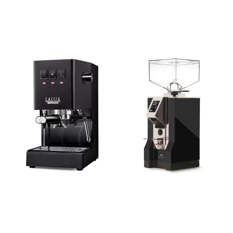 Gaggia New Classic, black + Eureka Mignon Specialita, CR black