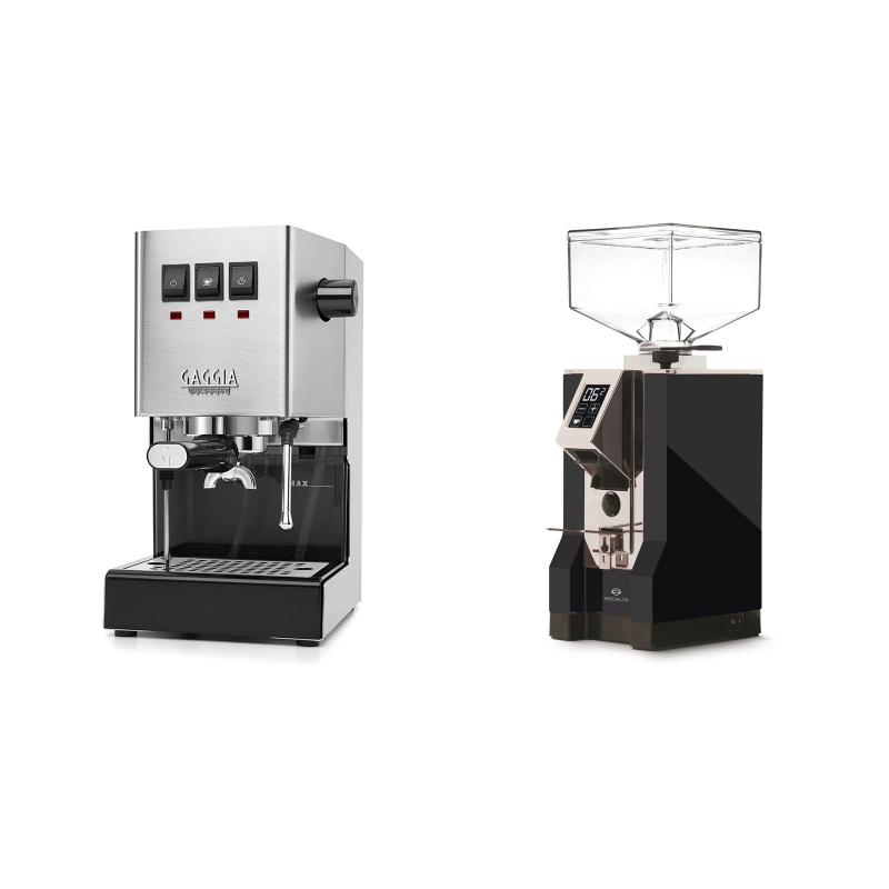 Gaggia New Classic + Eureka Mignon Specialita, CR black
