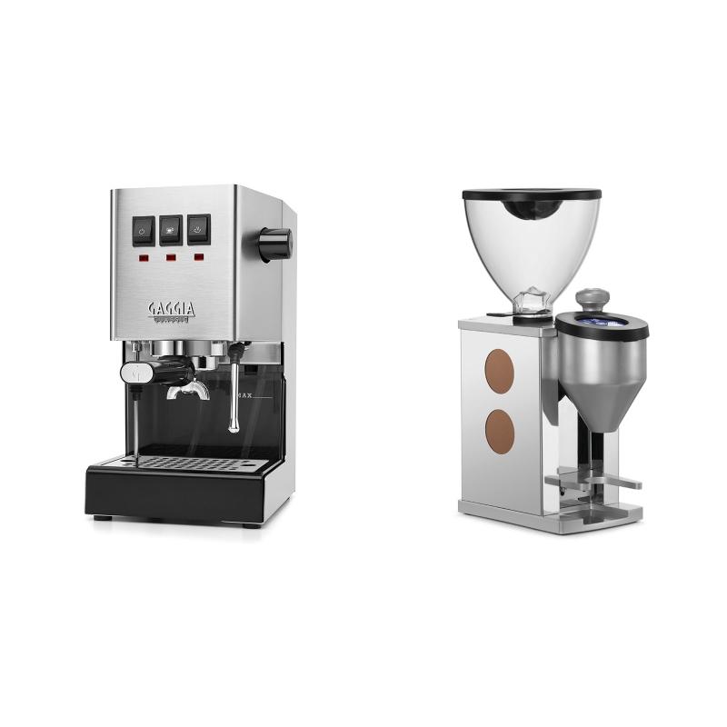 Gaggia New Classic + Rocket Espresso FAUSTINO, copper