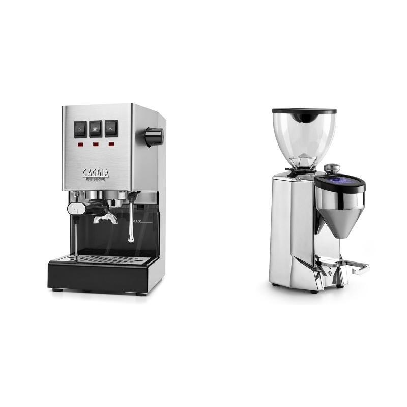 Gaggia New Classic BC + Rocket Espresso FAUSTO 2.1, chrome