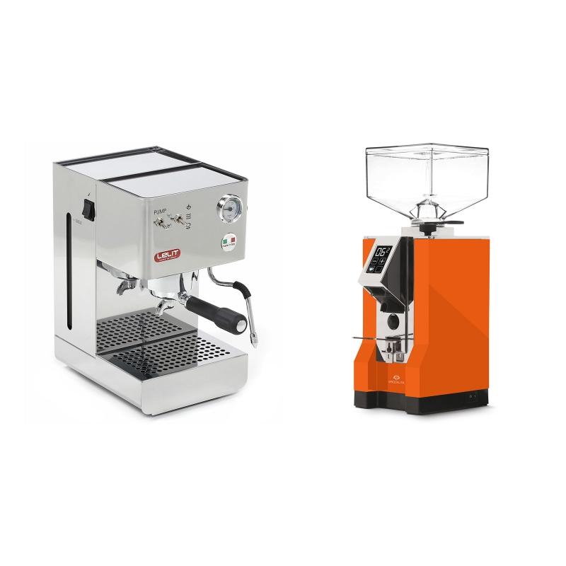 Lelit Glenda PL41PLUS + Eureka Mignon Specialita, CR orange
