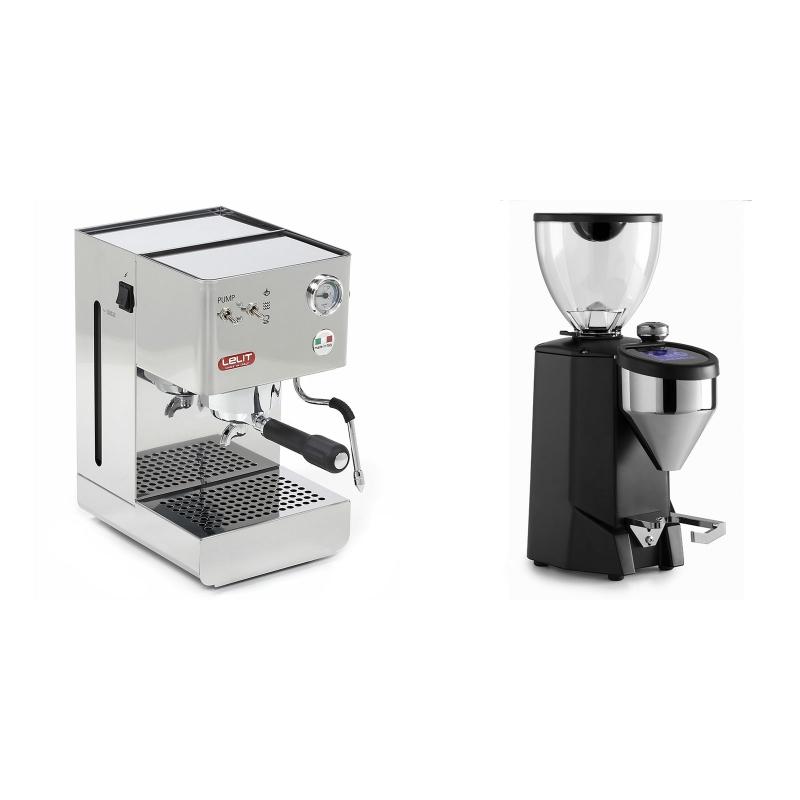 Lelit Glenda PL41PLUS + Rocket Espresso FAUSTO 2.1, black
