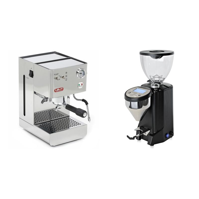Lelit Glenda PL41PLUS + Rocket Espresso FAUSTO, black