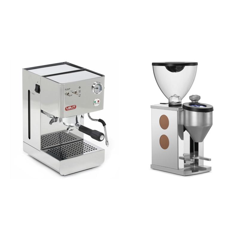Lelit Glenda PL41PLUS + Rocket Espresso FAUSTINO, copper
