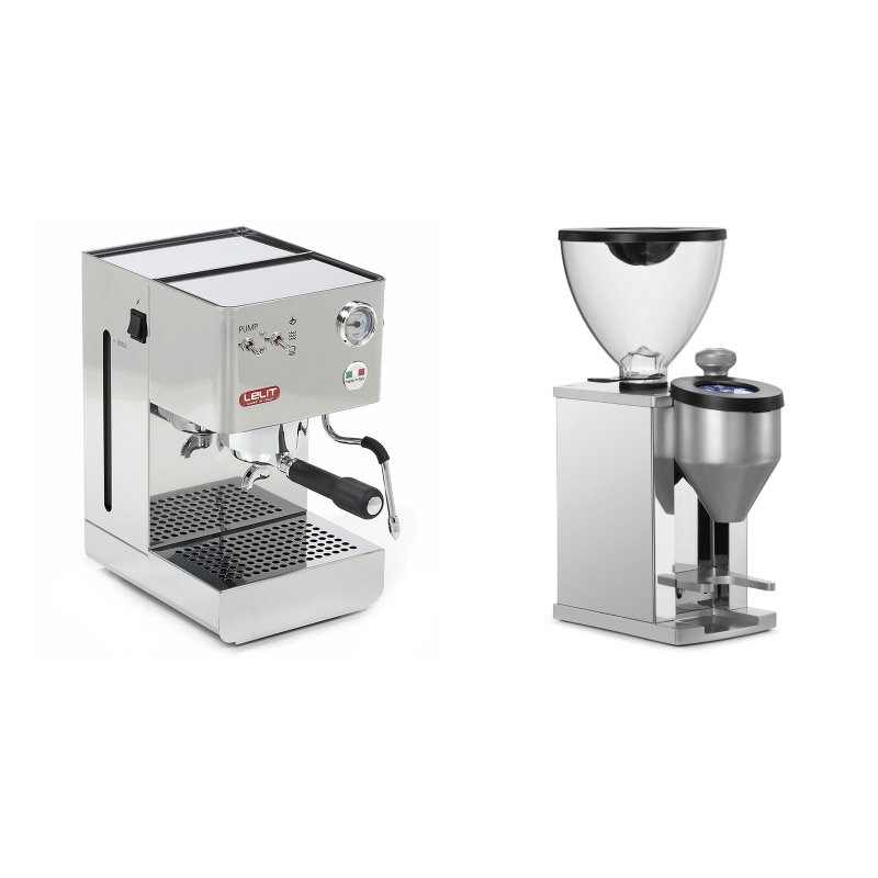 Lelit Glenda PL41PLUS + Rocket Espresso FAUSTINO, chrome
