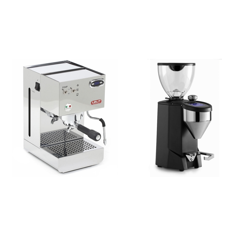 Lelit Glenda PL41PLUST + Rocket Espresso FAUSTO 2.1, black