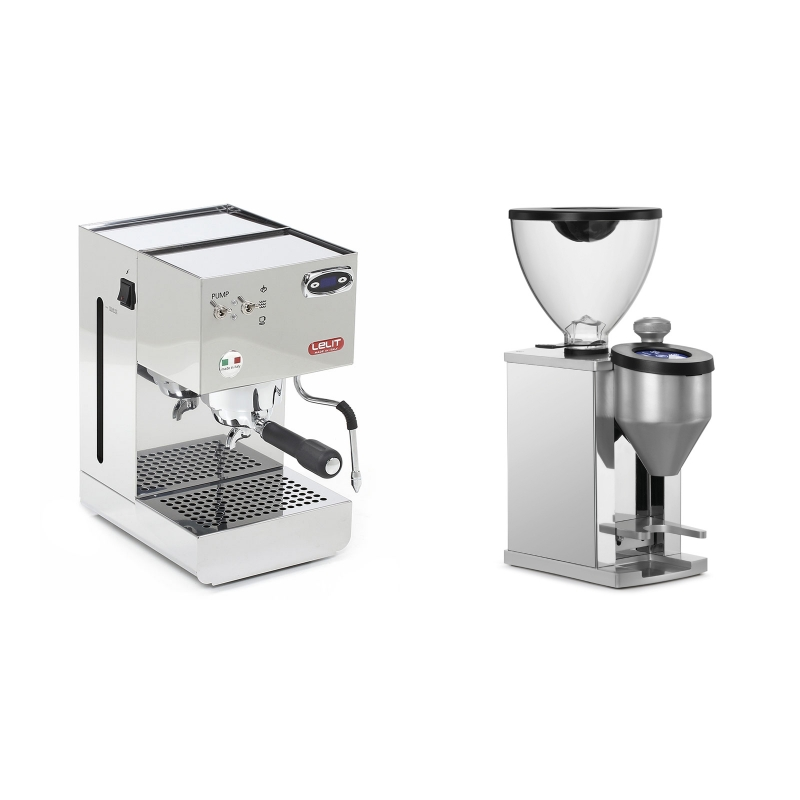 Lelit Glenda PL41PLUST + Rocket Espresso FAUSTINO, chrome