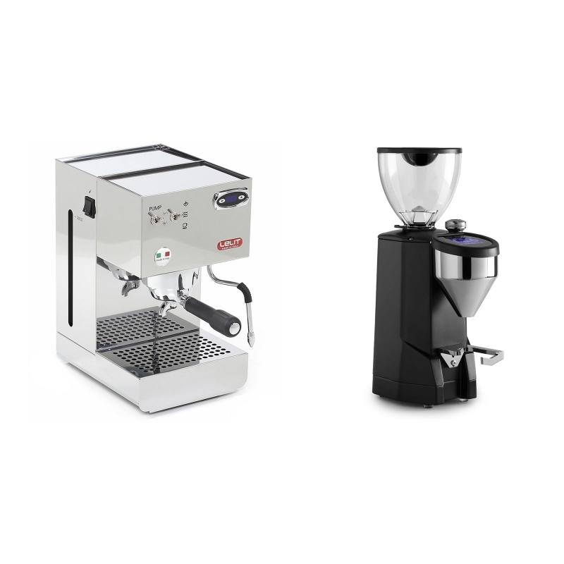 Lelit Glenda PL41PLUST + Rocket Espresso SUPER FAUSTO, black