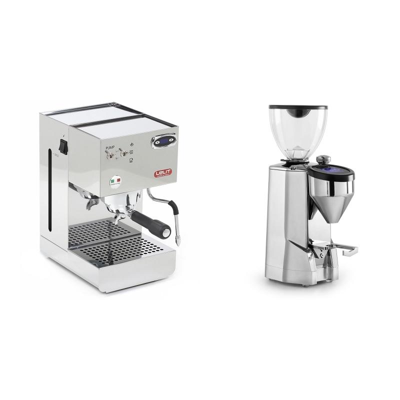 Lelit Glenda PL41PLUST + Rocket Espresso SUPER FAUSTO, chrome