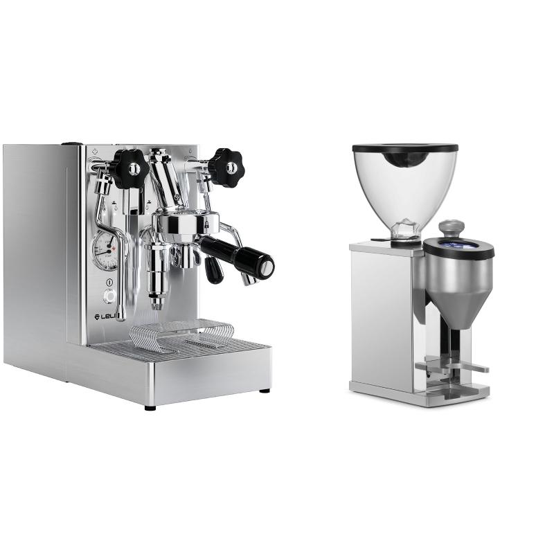Lelit Mara PL62X + Rocket Espresso FAUSTINO, chrome