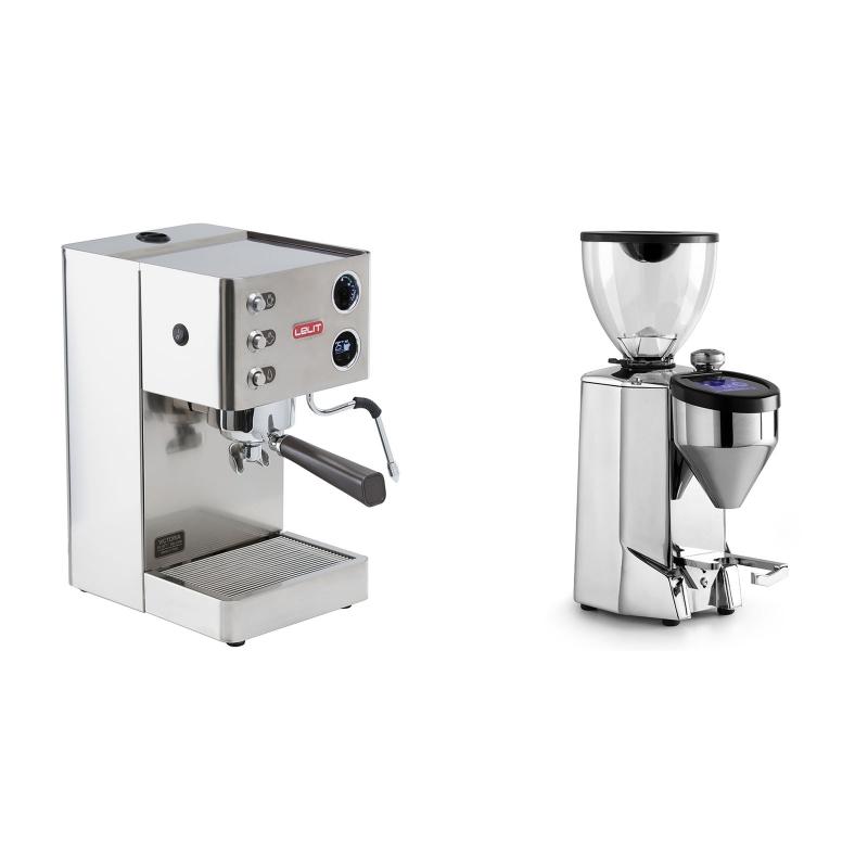 Lelit Victoria PL91T + Rocket Espresso FAUSTO 2.1, chrome
