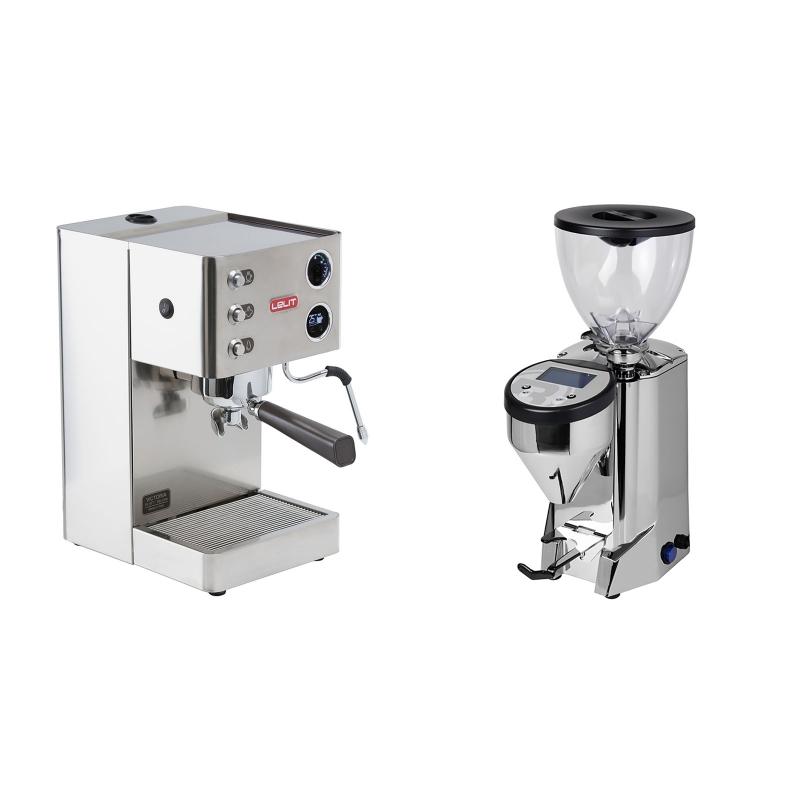 Lelit Victoria PL91T + Rocket Espresso FAUSTO, chrome