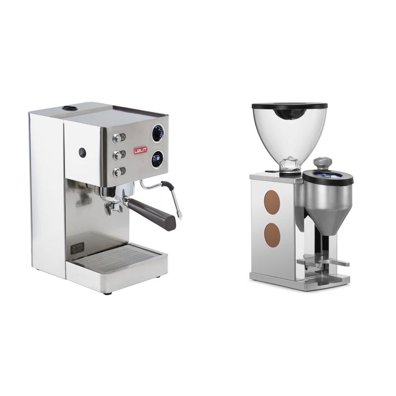 Lelit Victoria PL91T + Rocket Espresso FAUSTINO, copper