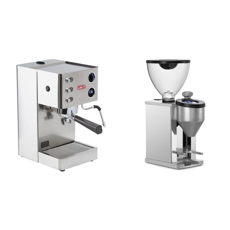 Lelit Victoria PL91T + Rocket Espresso FAUSTINO, chrome