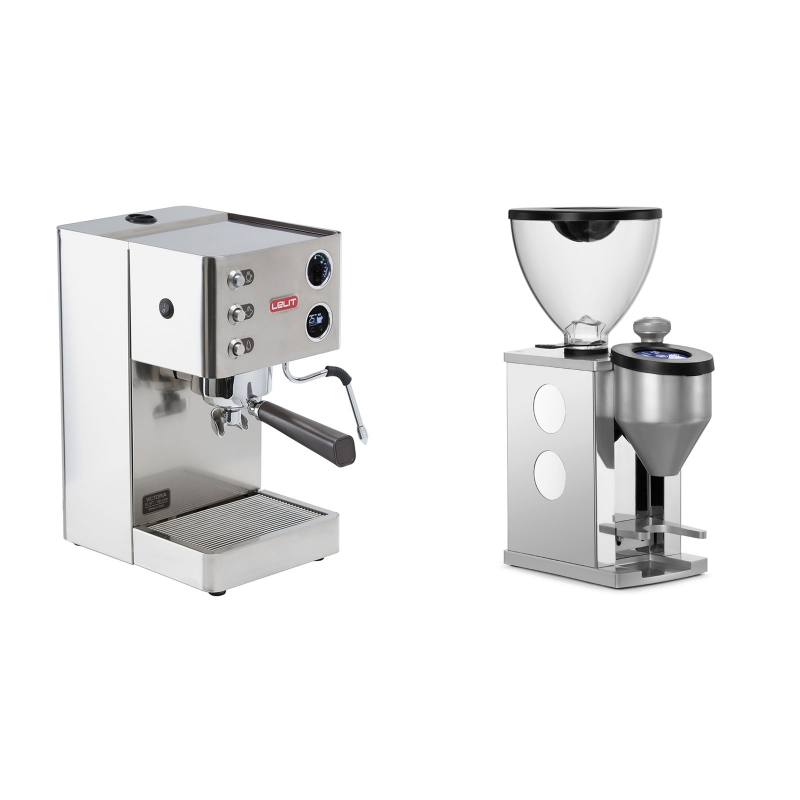 Lelit Victoria PL91T + Rocket Espresso FAUSTINO, white