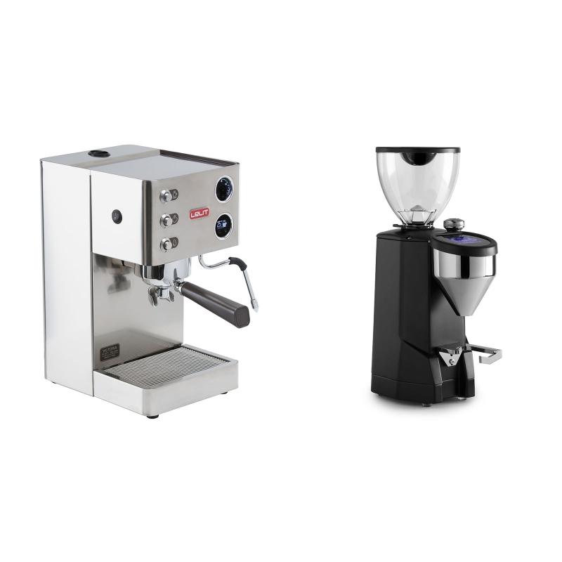 Lelit Victoria PL91T + Rocket Espresso SUPER FAUSTO, black