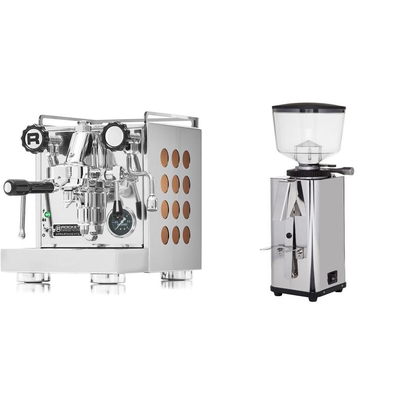Rocket Espresso Appartamento, copper + ECM S-Manuale 64