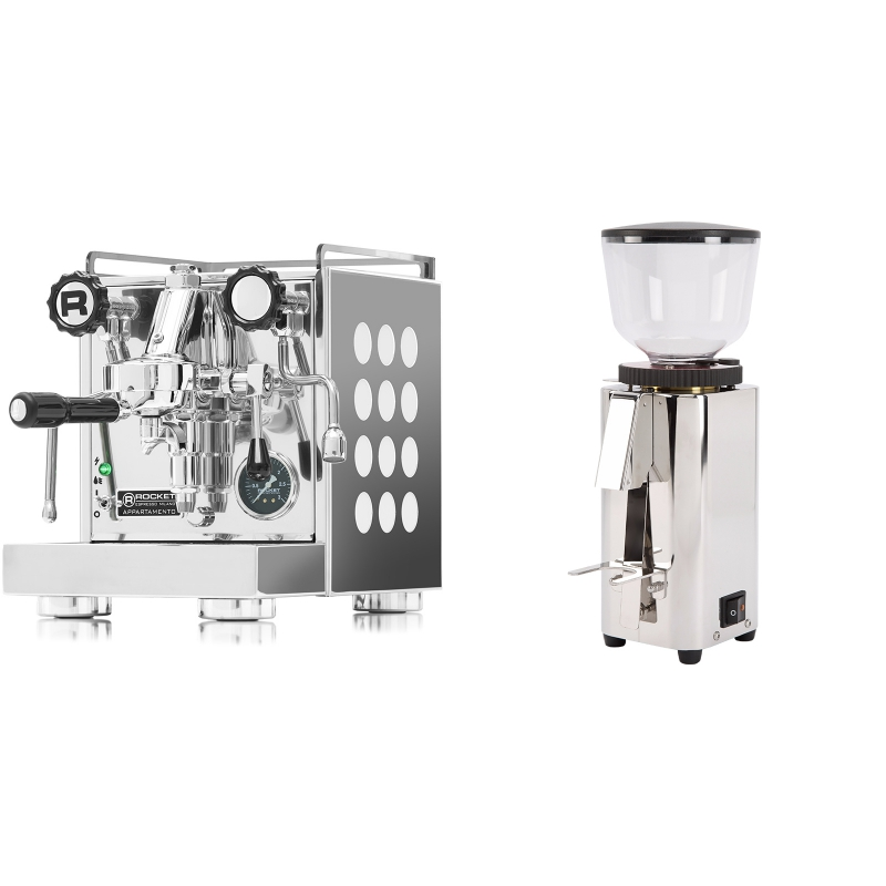 Rocket Espresso Appartamento, white + ECM C-Manuale 54