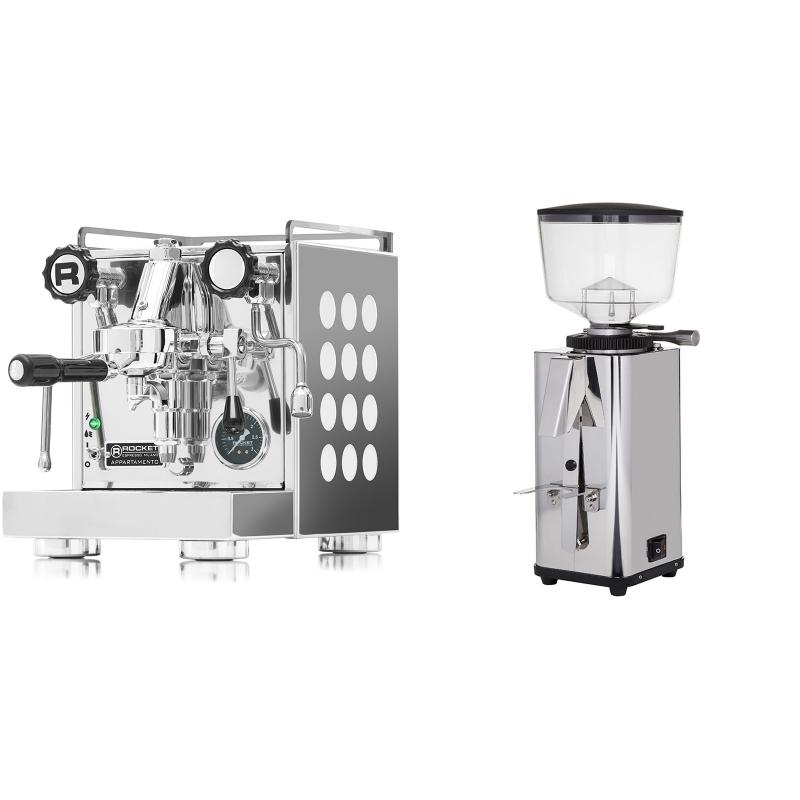 Rocket Espresso Appartamento, white + ECM S-Manuale 64