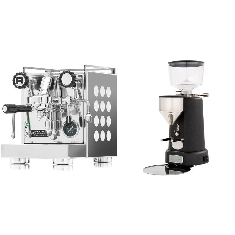 Rocket Espresso Appartamento, white + ECM V-Titan 64, anthracite