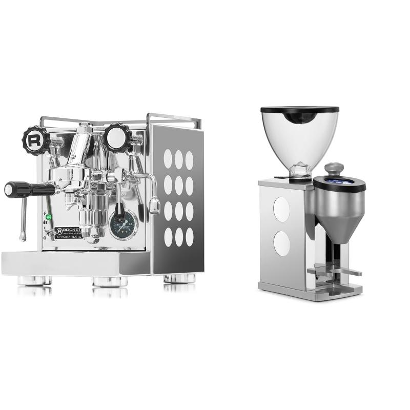 Rocket Espresso Appartamento, white + Rocket Espresso FAUSTINO, white
